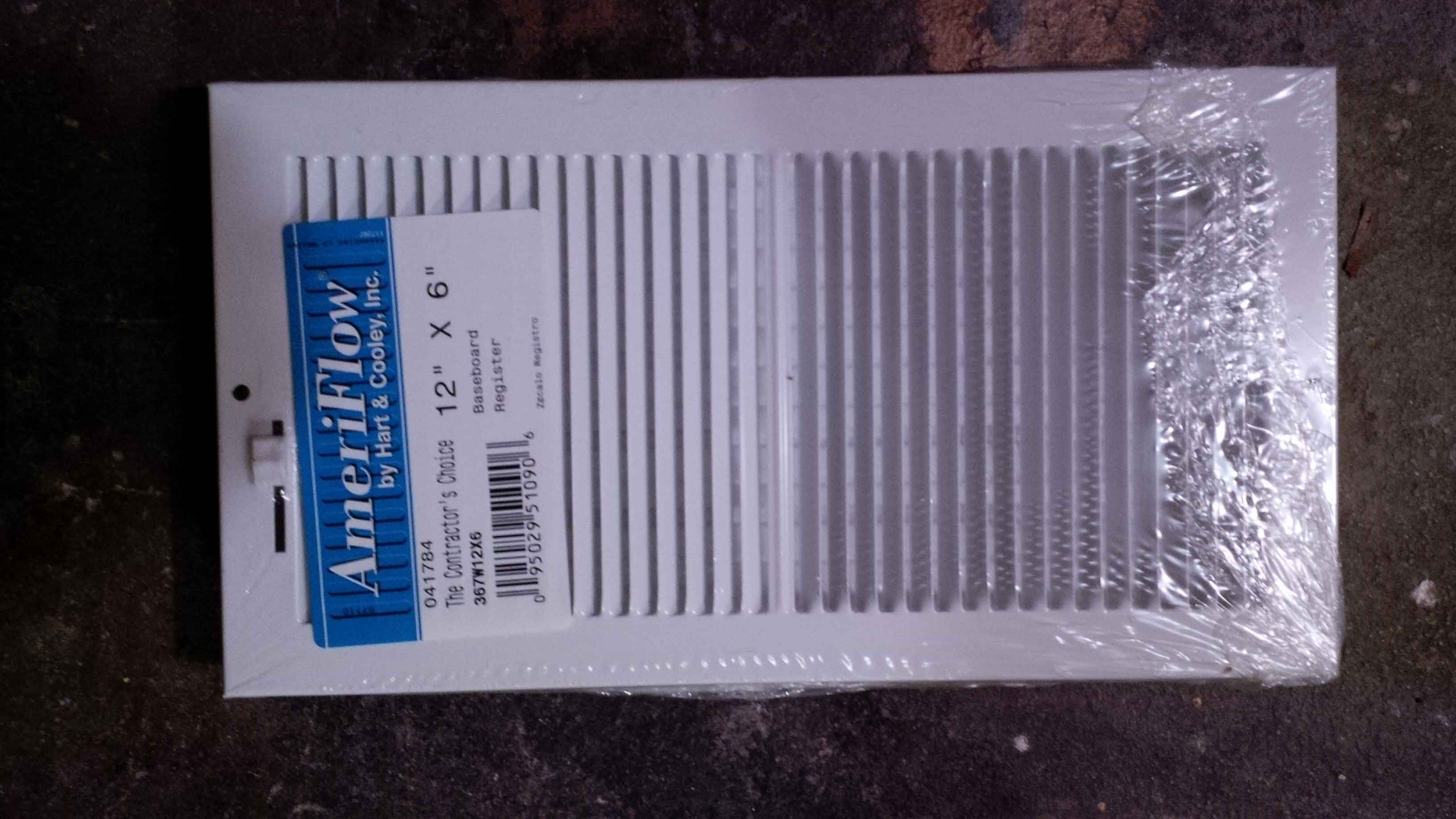 REGISTER 12 X 6 AND 2 CEILING SIDEWALL DIFFUSERS 14 X 8 eBay #1C4073