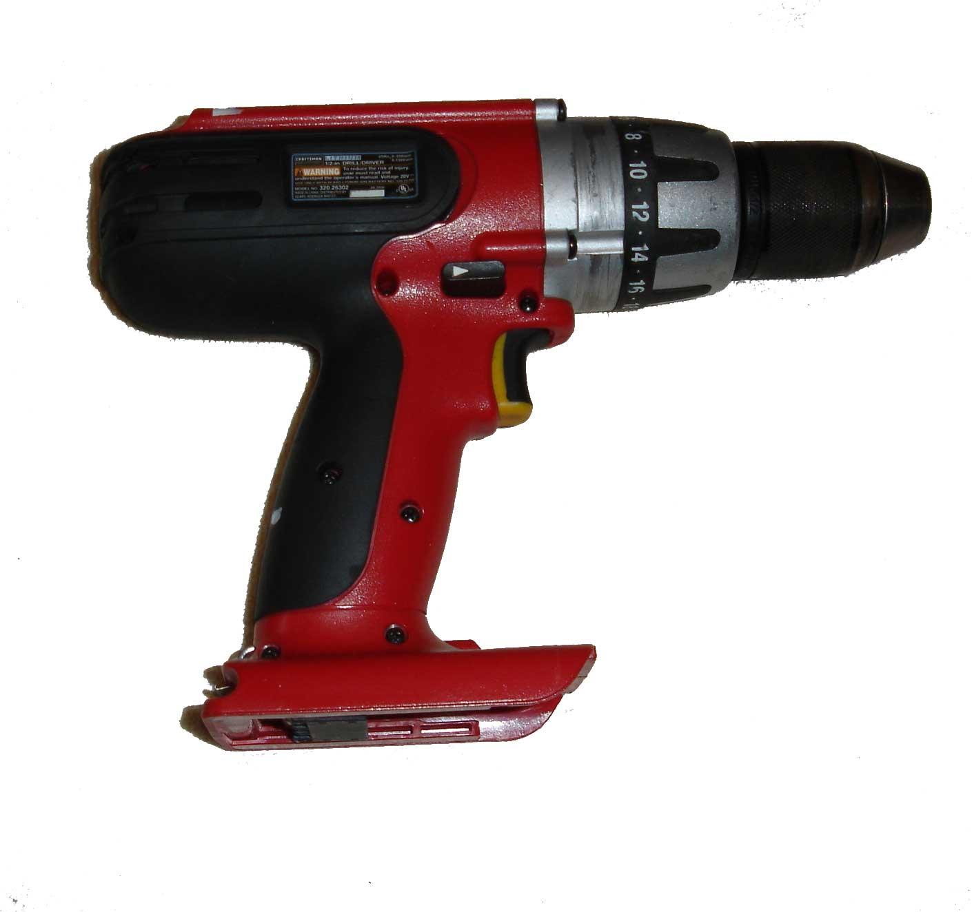 craftsman 20 volt drill