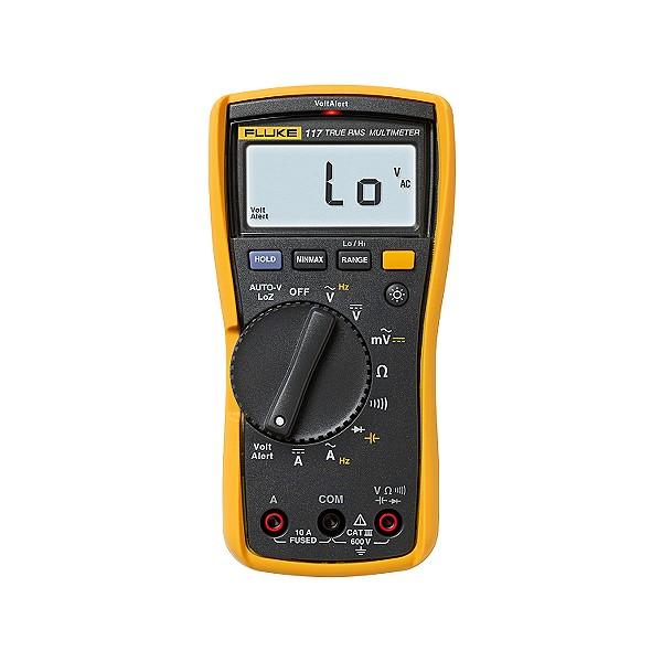 Fluke Voltage Meter : New fluke multimeter volt meter free carrying case non