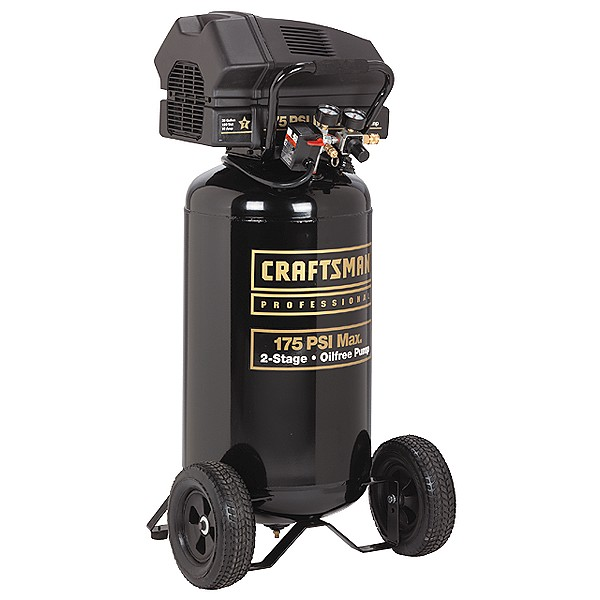 NEW Craftsman Professional 25 gal Vertical Compressor | eBay